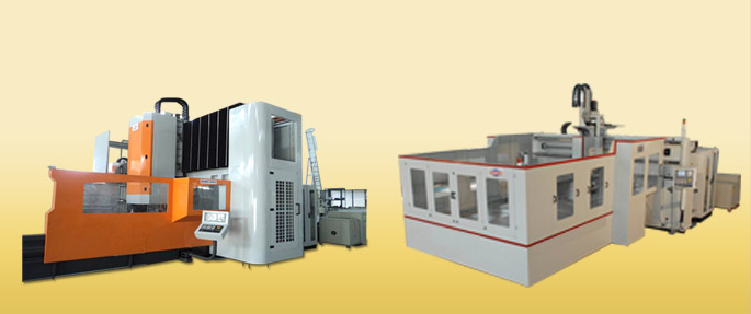Double Column / Gantry Machining Centres