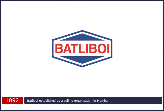 Batliboi established as a selling organisation in Mumbai