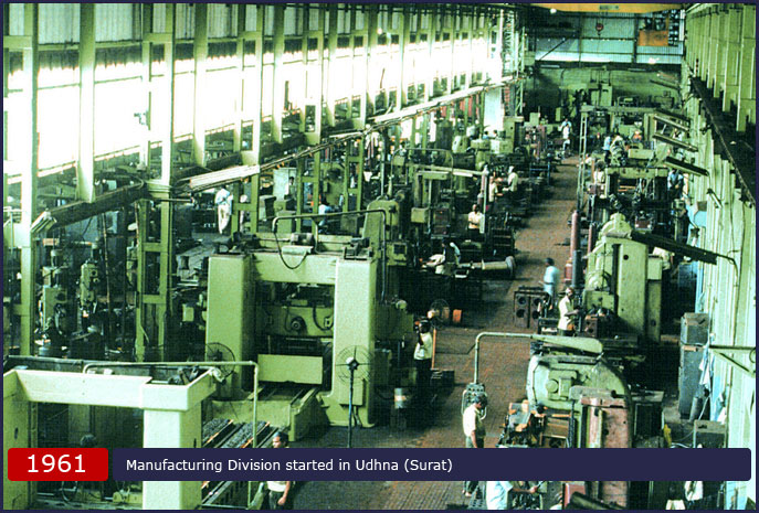 Manufacturing Division started in Udhna (Surat)